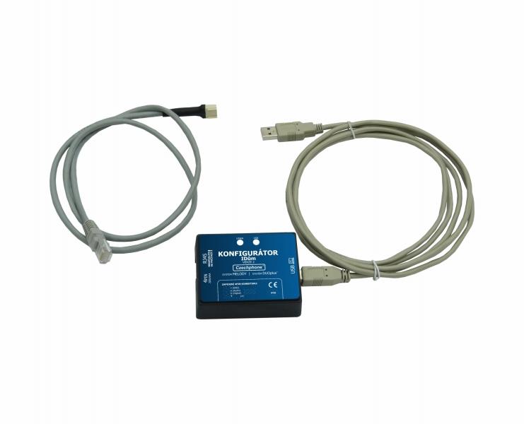 USB Konfigurator iDum ver. 2 - pro systém MELODY a DUOplus+ 2