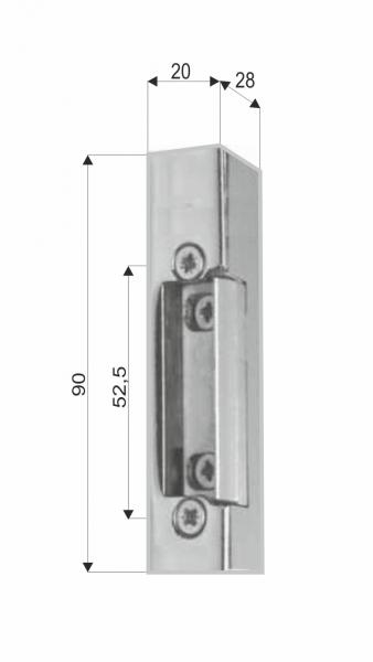 EFP 511 - rozměry