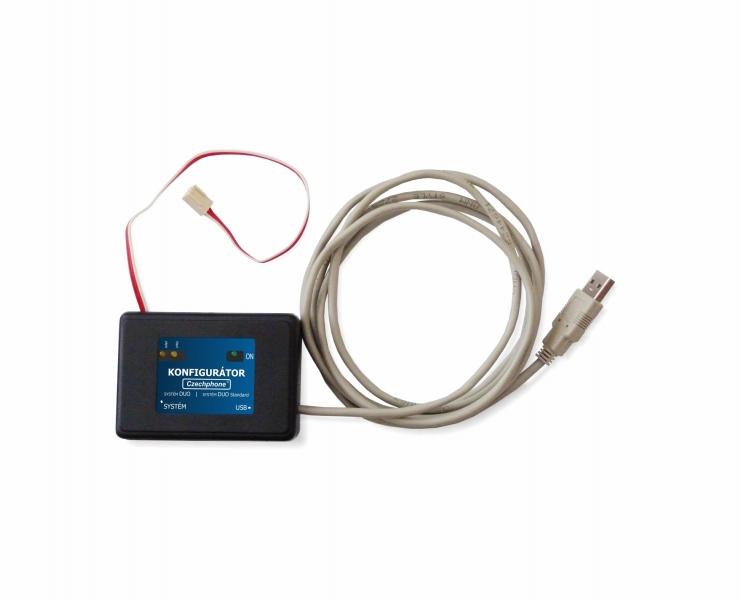 USB Konfigurátor pro dvoudrátové systémy DUO Standard a DUO (AS...) 2